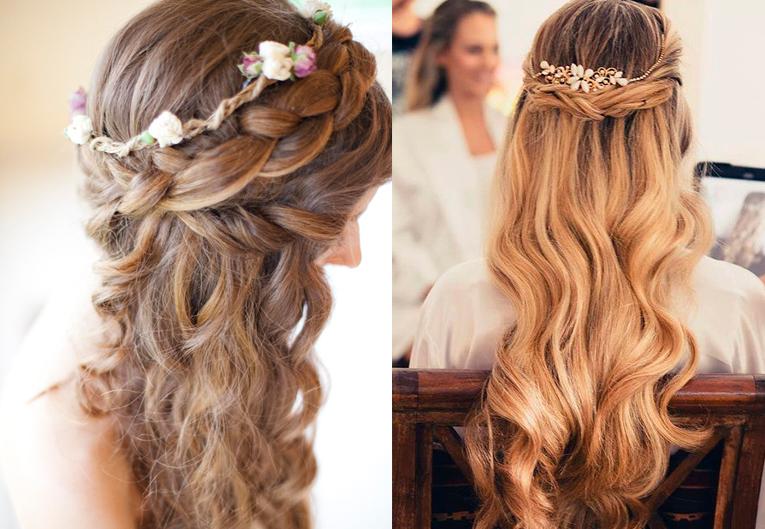 Картинки красивых причёсок на длинные волосы