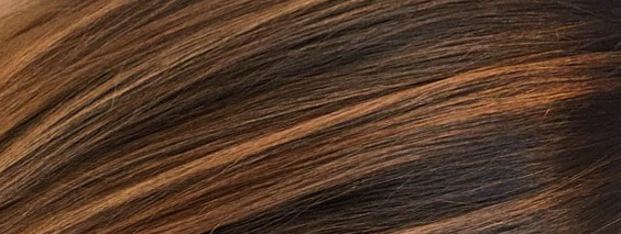 Венецианское мелирование на темные волосы