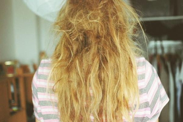 спутанные волосы