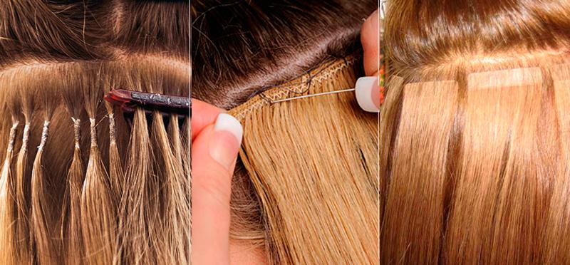 Как снять нарощенные волосы 93
