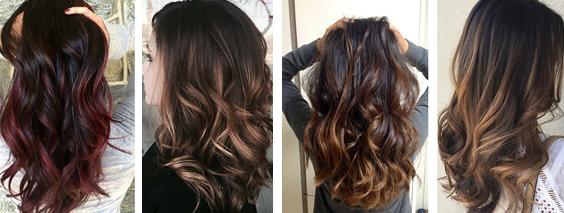 Модное тонирование волос 2017 (39 фото ) видео