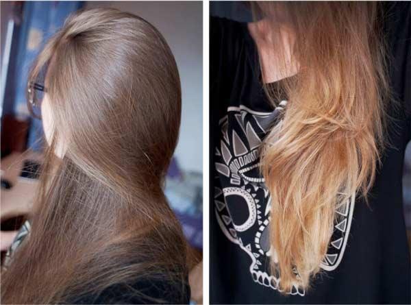 Как на волосы влияет лимон