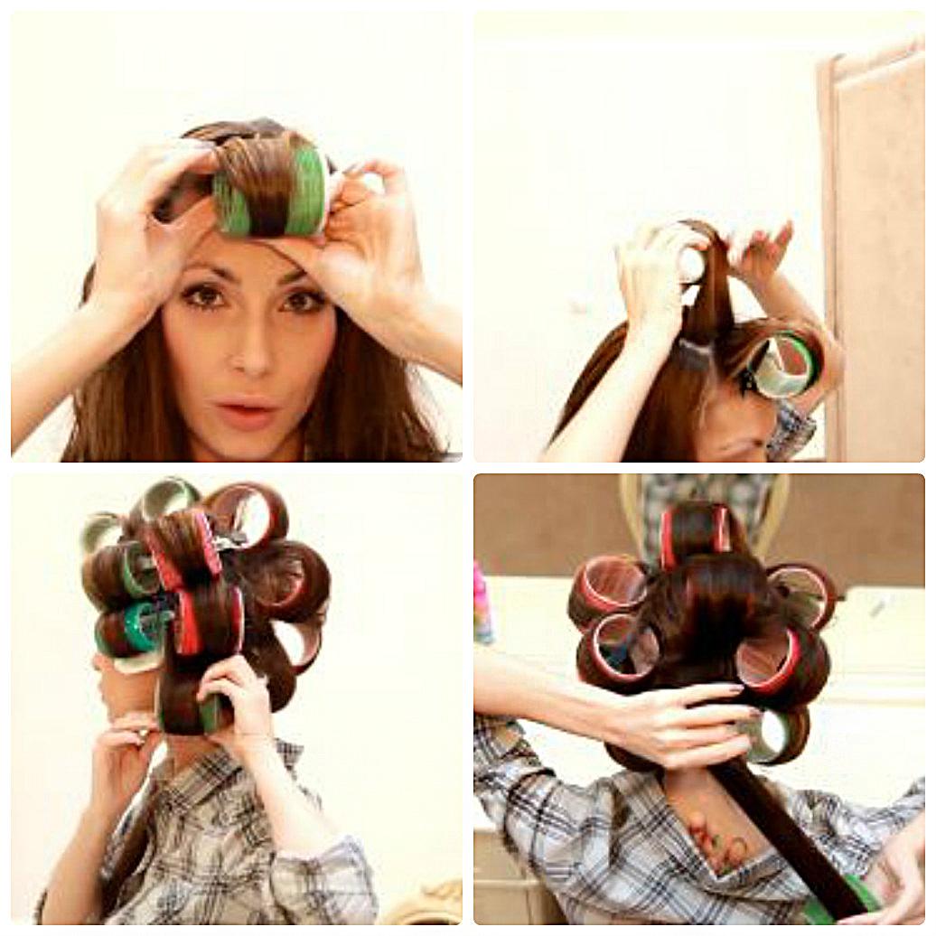 Как сделать локоны на коротких волосах бигудями