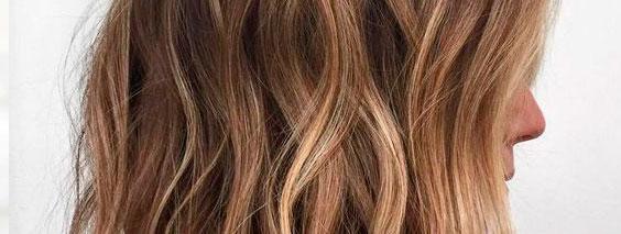 Мелирование на темные волосы повторное