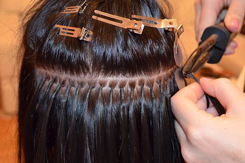 Как снимается капсула с волос