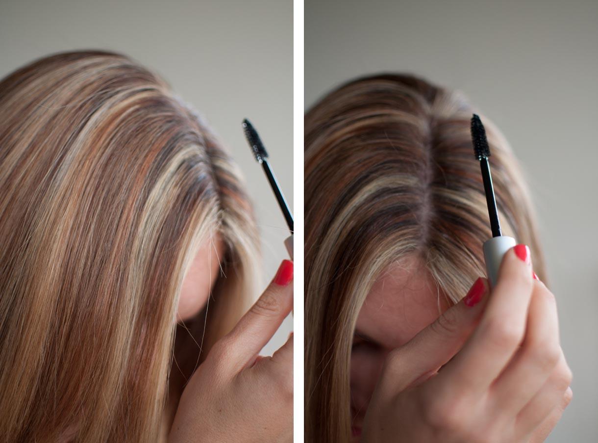 светлая тушь для волос