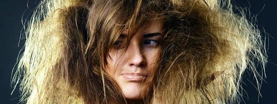 Kак ухаживать за сухими волосами